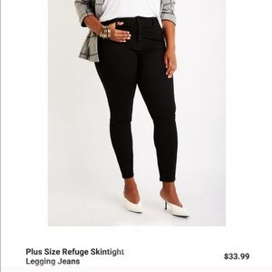 Charlotte Russe Plus Size Skinny Jeans